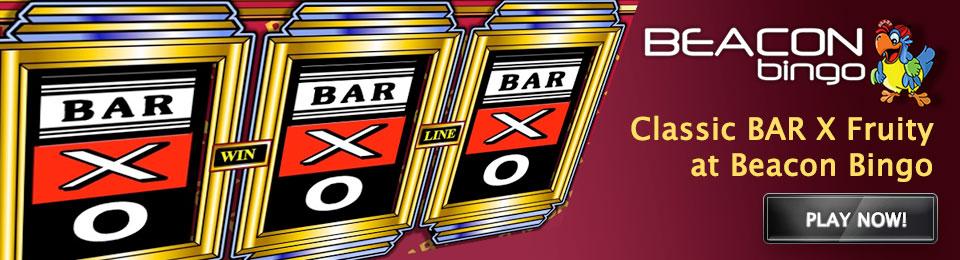 Bar X at Beacon Bingo